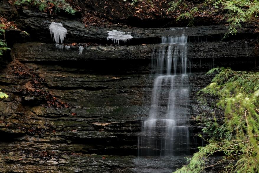 Cummins Falls Cookville tennessee winter waterfalls